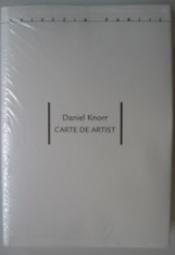 Carte de artist